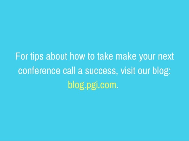 3 Things You Should Never Do on a Conference Call