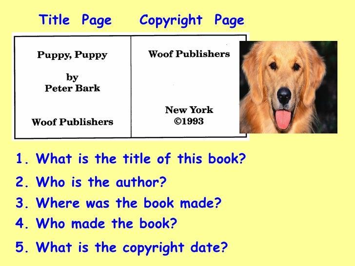 3th Parts Of A Book Pt1