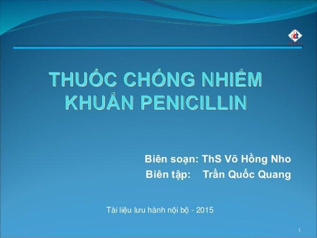 1 Biên soạn: ThS Võ Hồng Nho Biên tập: Trần Quốc Quang Tài liệu lưu hành nội bộ - 2015