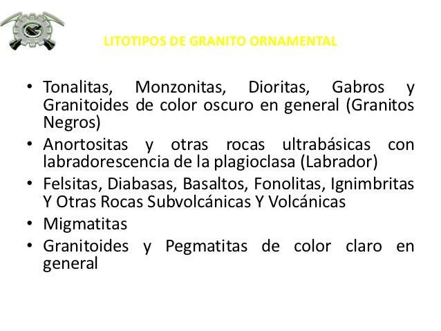 3 tipos de granitos ornamentales for Granitos colores claros