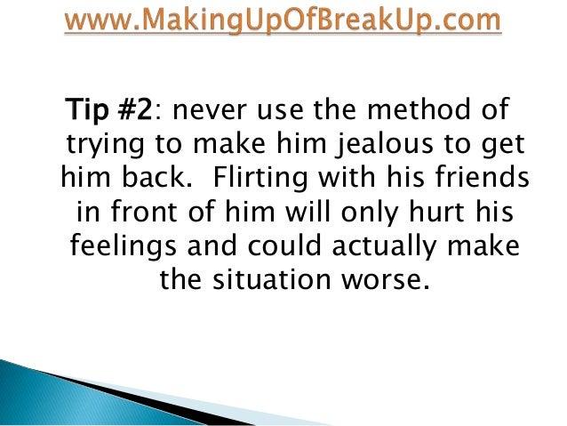flirting tips