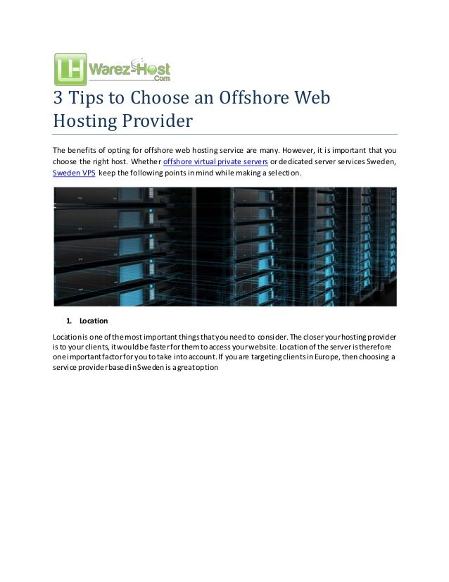 Offshore Linux Vps