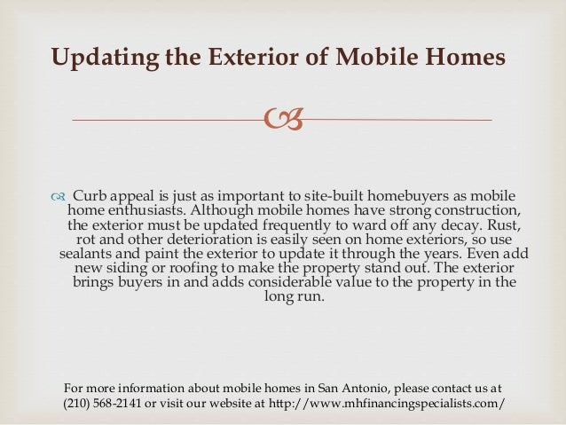 Value Of Mobile Homes 3 tips to liveto maintain the value of mobile homes.