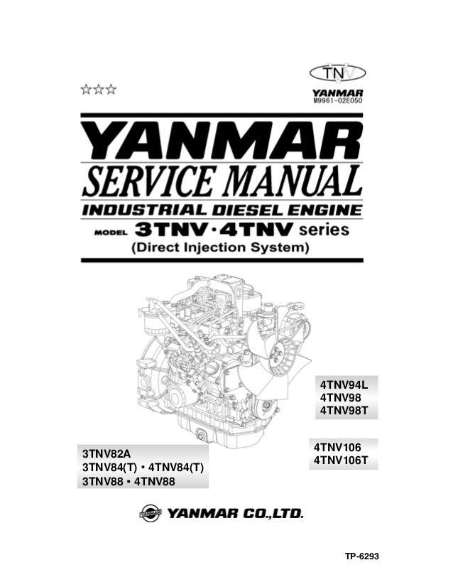 3 tnv88 loids rh slideshare net Yanmar 4TNV88 J1939 yanmar 4tnv88-xms service manual