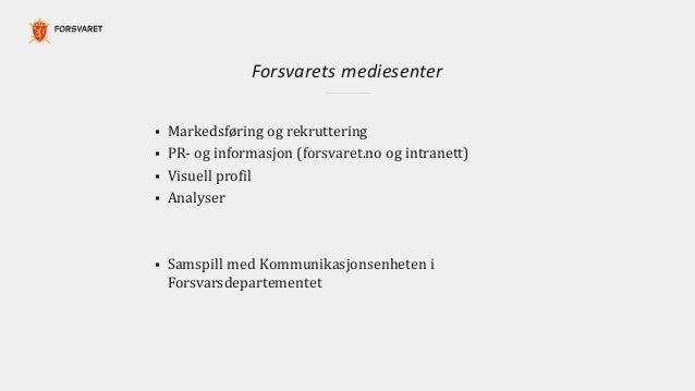 Tom O. Ovind: Kommunikasjon som et strategisk verktøy Slide 2