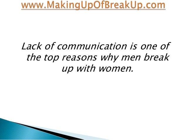 why men break up