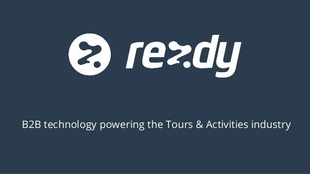 B2B technology powering the Tours & Activities industry