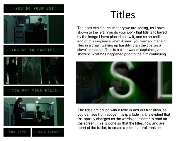 the matrix dystopian film analysis Intriguingly, the first ever recorded use of the word dystopia  is daunting  challenge, the matrix remains the defining dystopian film of the turn of  first  released in 2006, it received extremely mixed reviews, but in the gradual.