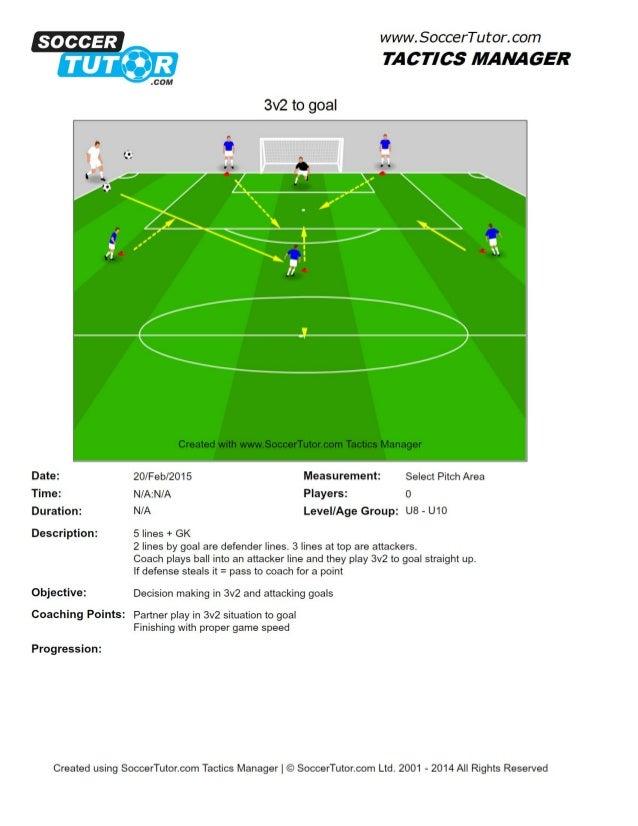 3v2 to goal