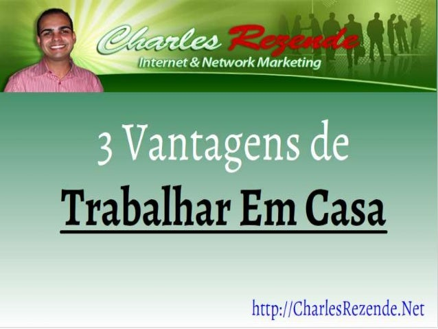 a In tíern et 8( Network Marketing  a  3 Vantagens de  'r ' ',  r