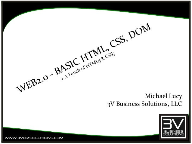 Michael Lucy 3V Business Solutions, LLC