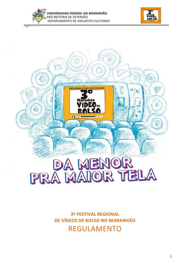 UNIVERSIDADEFEDERALDOMARANHÃO                                                                                        P...