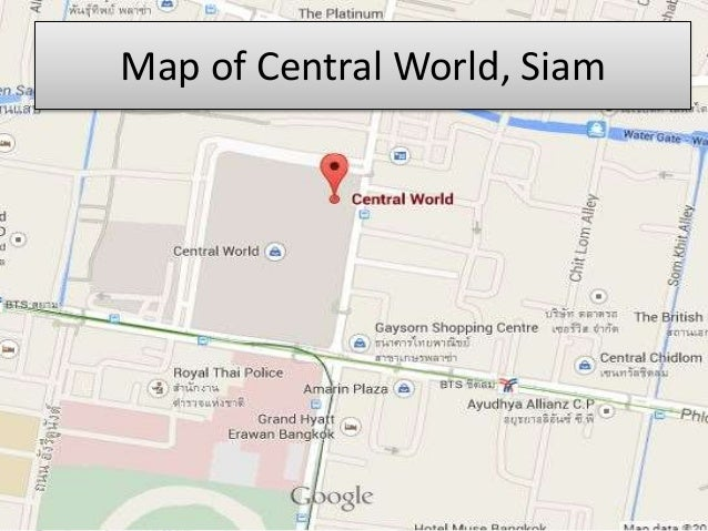 Shopping venues in bangkok map of central world siam 4 gumiabroncs Image collections