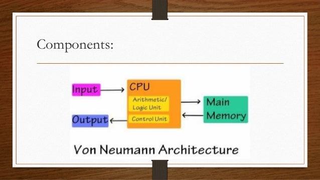 Von neumann architecture for Architecture von neumann