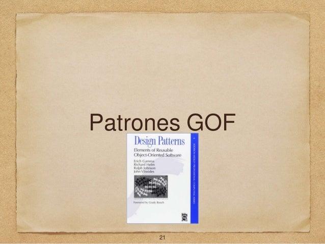 Patrones GOF 21