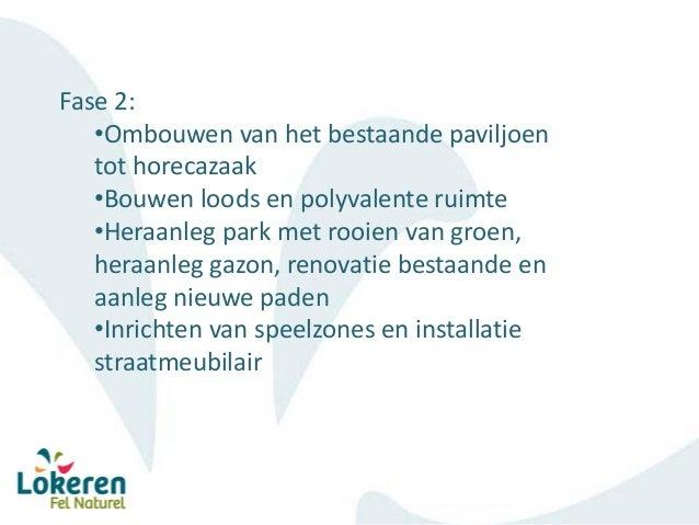 Sectormoment Waasland – Durme en Moervaart - Waterrecreatief centrum Lokeren