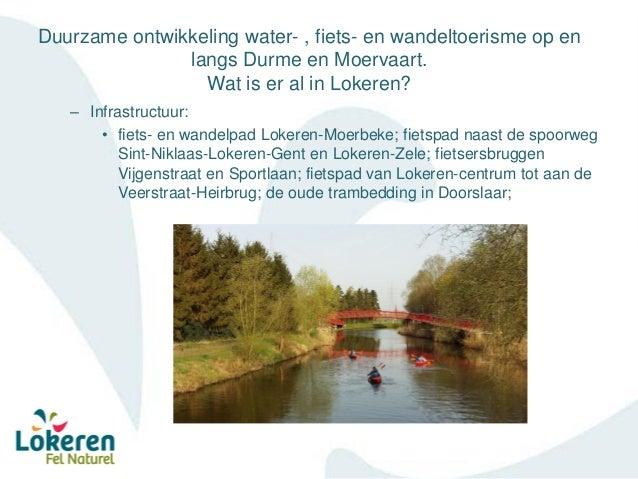 Sectormoment Waasland – Durme en Moervaart - Waterrecreatief centrum Lokeren Slide 2