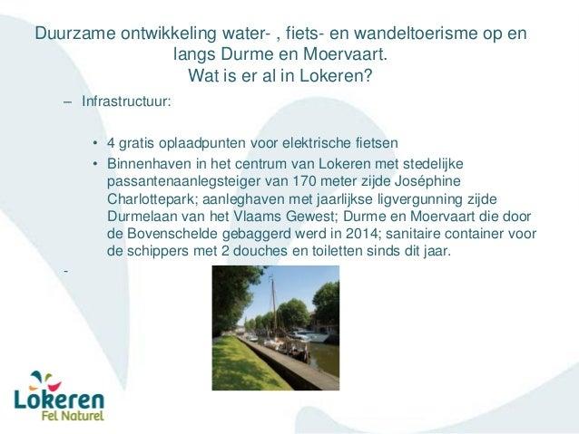 Sectormoment Waasland – Durme en Moervaart - Waterrecreatief centrum Lokeren Slide 3