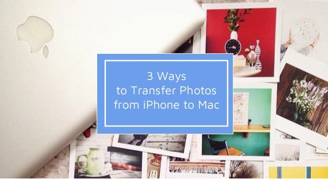how to send photos from a mac to an iphone
