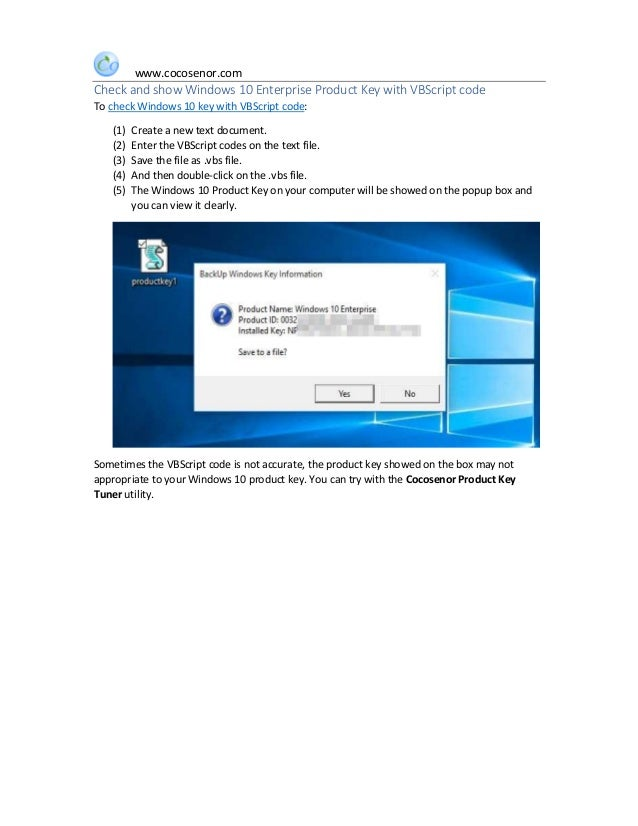 where can i find my windows 10 enterprise product key