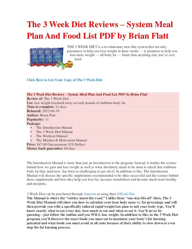 2 week diet brian flatt full download free