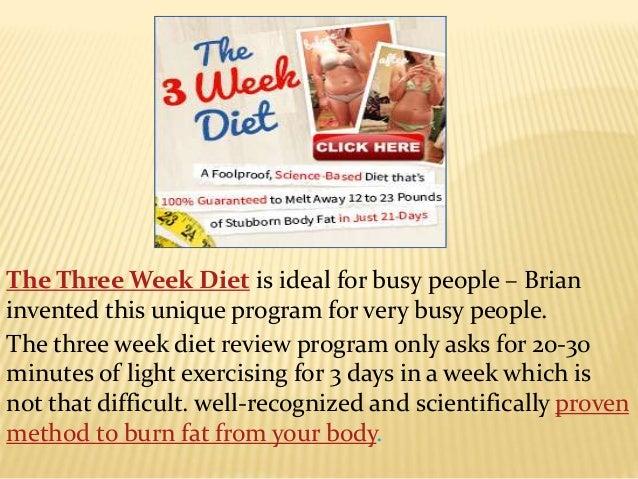 3 Weeks Diet Program - Lose Weight in Just 21 Days