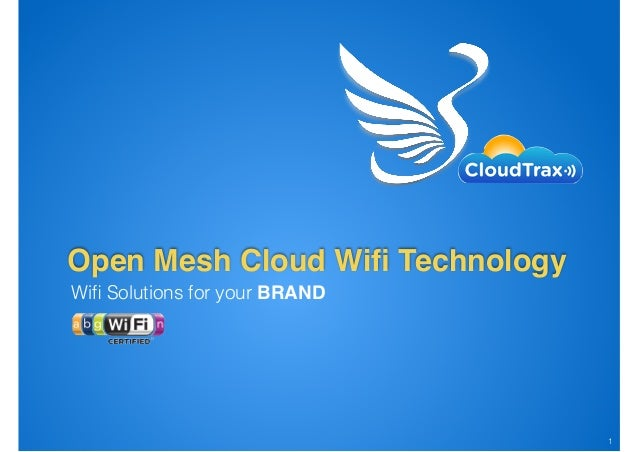 Wifi Solutions for your BRAND Open Mesh Cloud Wifi Technology !1