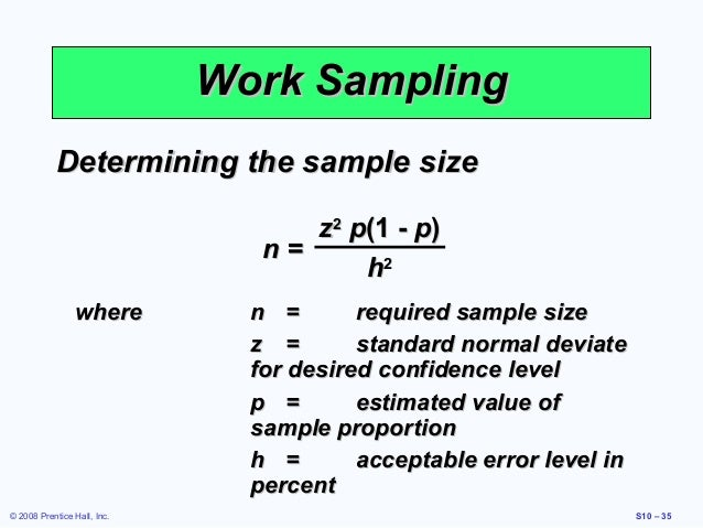 Topic 5 - WORK SMPLING.ppt - Motion & Time Study