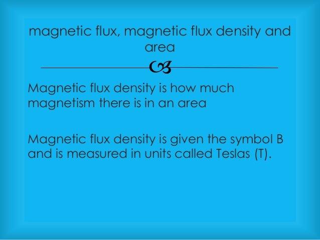 magnetic flux density formula - photo #11