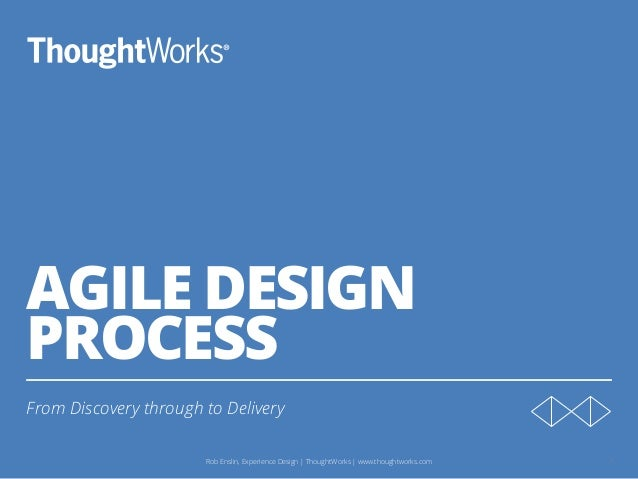 Working as an agile Experience Designer Slide 2