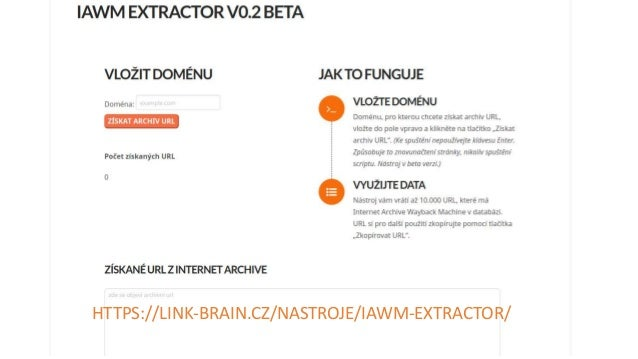 Výsledek standardizace URL MOD URL https://priklad.cz priklad.cz http://www.priklad.cz/merrin priklad.cz/merrin http://www...
