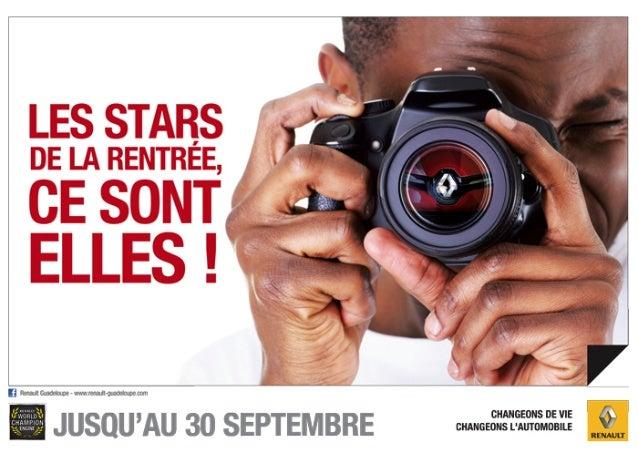 RENAULT GUADELOUPE - Offres de Septembre 2013