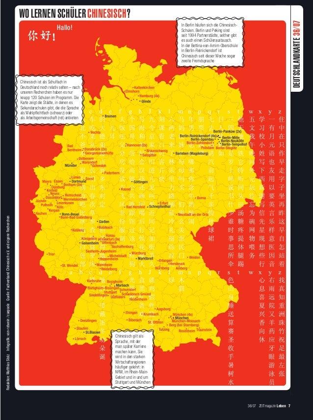 WO LERNEN SCHÜLER CHINESISCH?                                                                                             ...