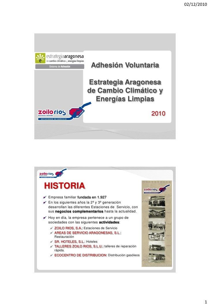 02/12/2010                         Adhesión Voluntaria                       Estrategia Aragonesa                       de...