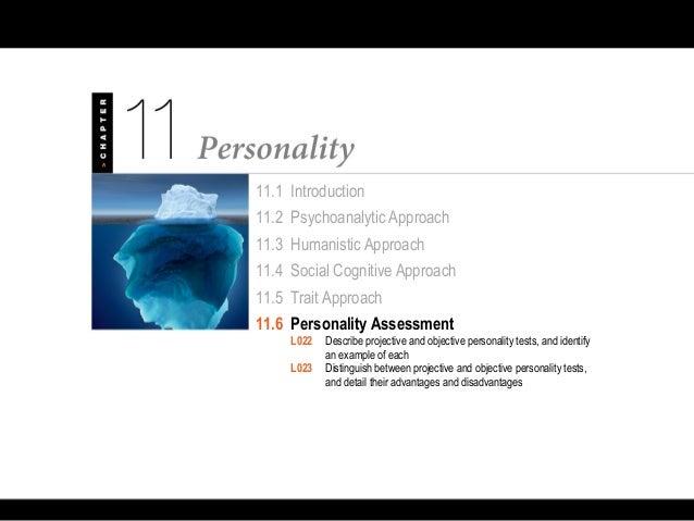 Psychology 101 Chapter 11 Personality
