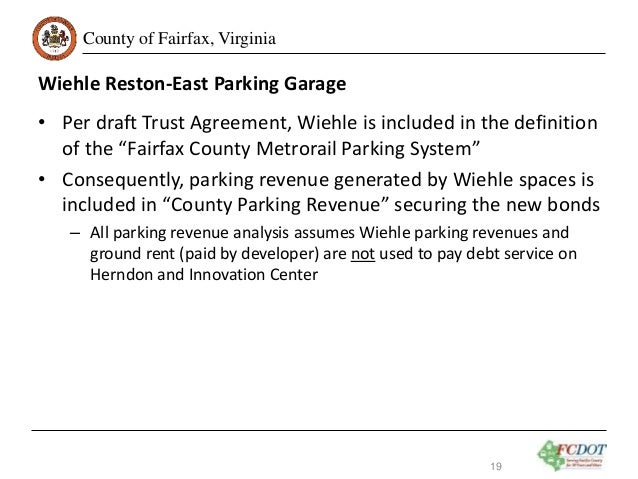 Dulles Metrorail Silver Line Phase 2 Fairfax County Parking Garages