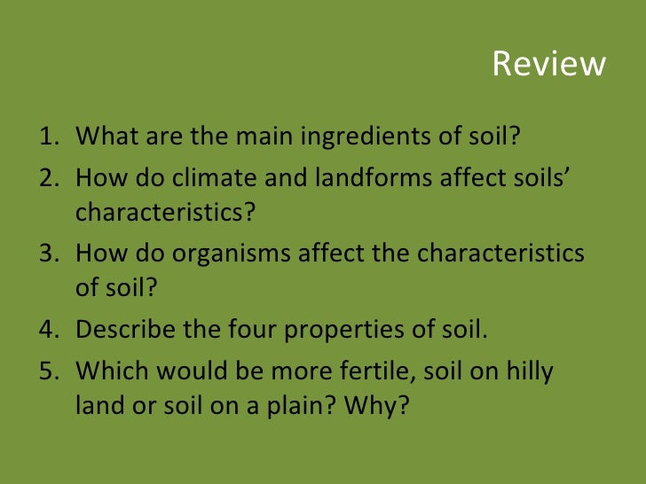 4 2 weathering and soil formation for Explain the formation of soil