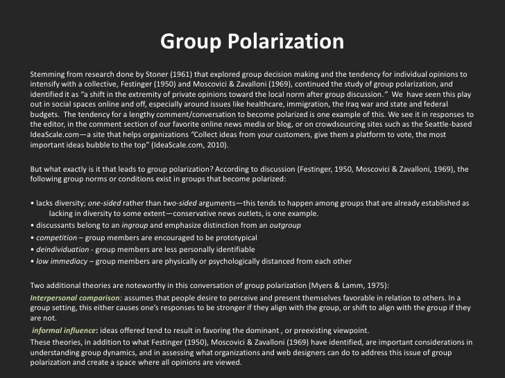 Ideascale Group Polarization At Play