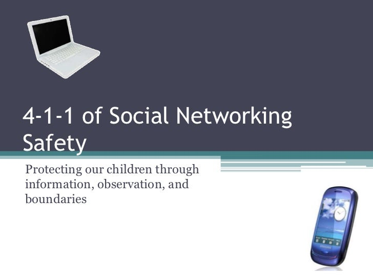 4 1-1 of social networking safety