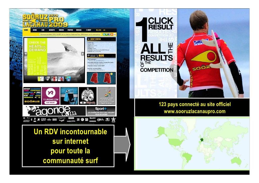 123 pays connecté au site officiel                           www.sooruzlacanaupro.com   Un RDV incontournable      sur int...