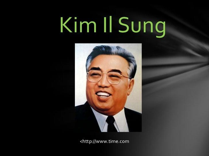 Kim Il Sung  <http://www.time.com