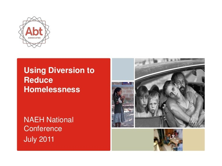 Using Diversion to Reduce Homelessness<br />NAEH National Conference<br />July 2011<br />