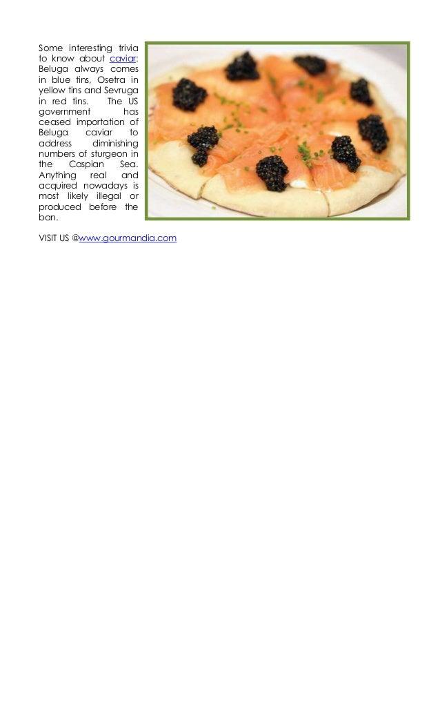 4.13.17 caviar recipes Slide 2