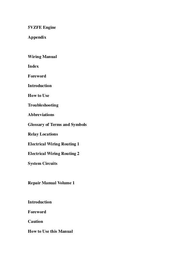 2003 Toyota Tacoma Service Repair Workshop Manual Download