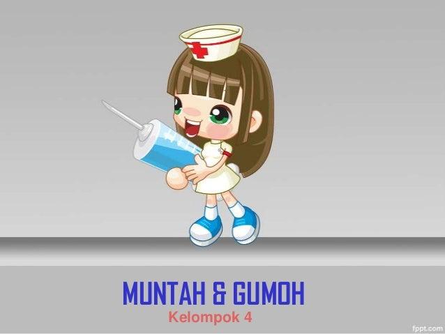 MUNTAH & GUMOHKelompok 4
