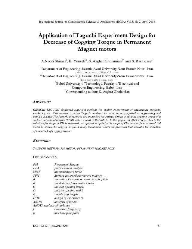 International Journal on Computational Sciences & Applications (IJCSA) Vol.3, No.2, April 2013DOI:10.5121/ijcsa.2013.3204 ...
