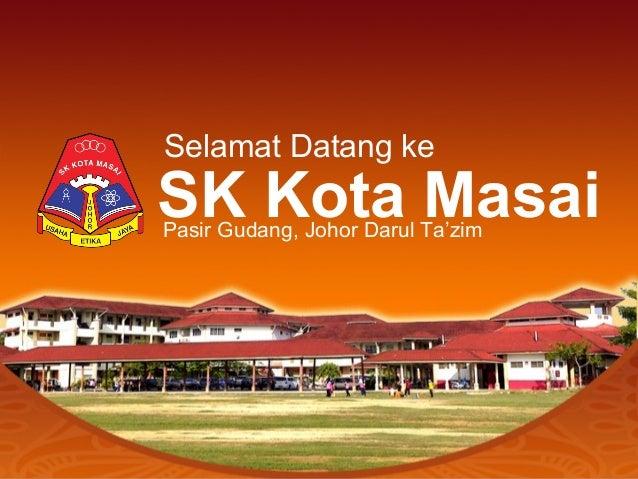 Selamat Datang ke SK Kota MasaiPasir Gudang, Johor Darul Ta'zim