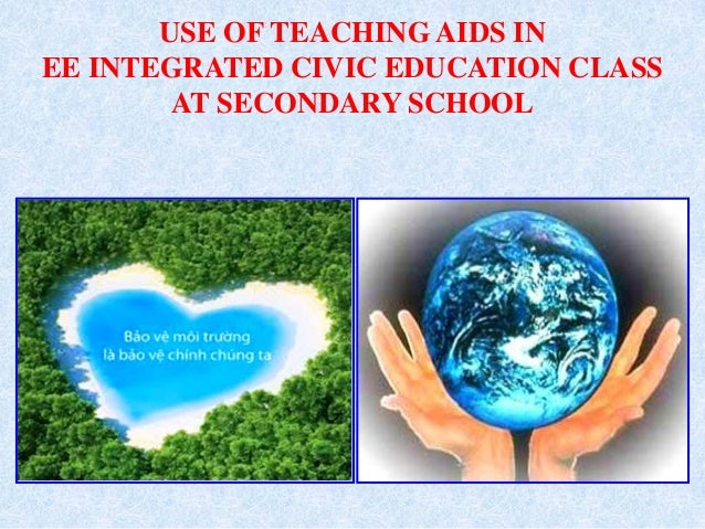 USE OF TEACHING AIDS IN EE INTEGRATED CIVIC EDUCATION CLASS AT SECONDARY SCHOOL