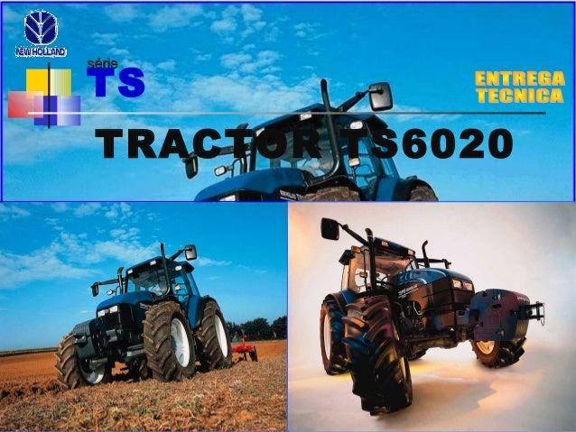 sériesérie TS TRACTOR TS6020