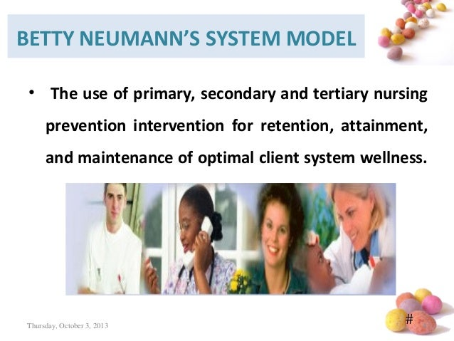 neumans system model Betty neuman's system model this page was last updated on november 9, 2010 ===== introduction betty neuman's system model provides a comprehensive flexible holistic and system based perspective for nursing.